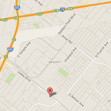 Office located at 13674 East Valley Boulevard, La Puente, CA 91746